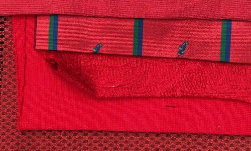Kit per sciarpa rosso