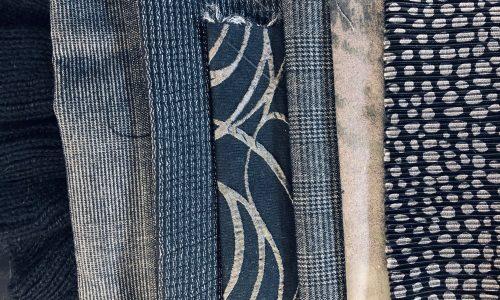 Kit per sciarpa blu